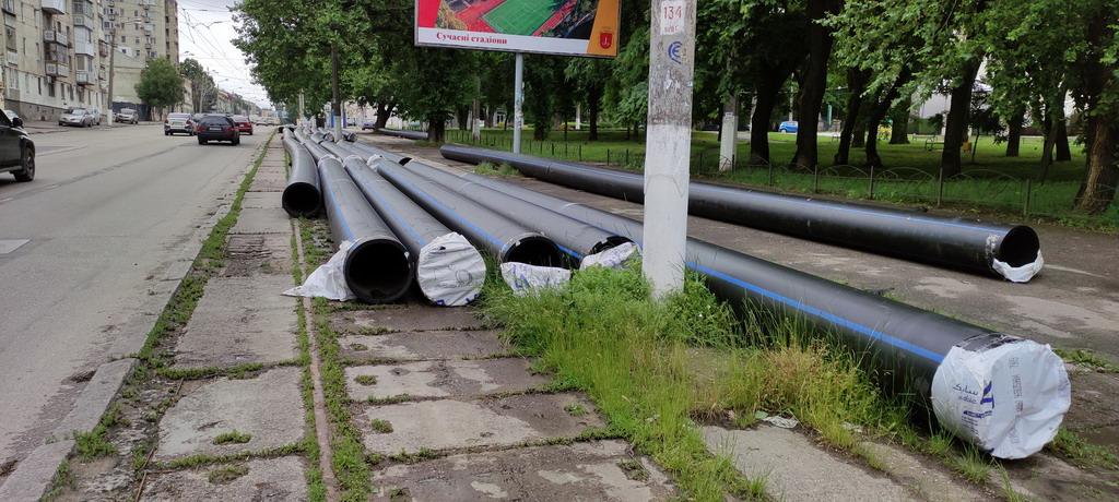 Водопровод на Мельницкой