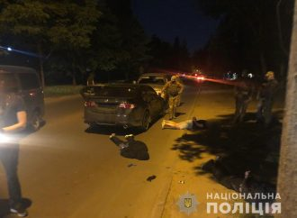 Одесским ворам не подфартило: их взяли вместе с сейфом (фото и видео)