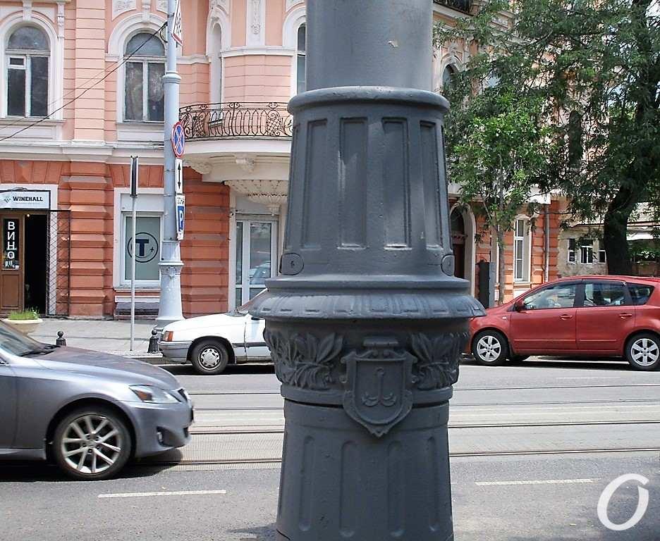 столб на ул. Софиевской