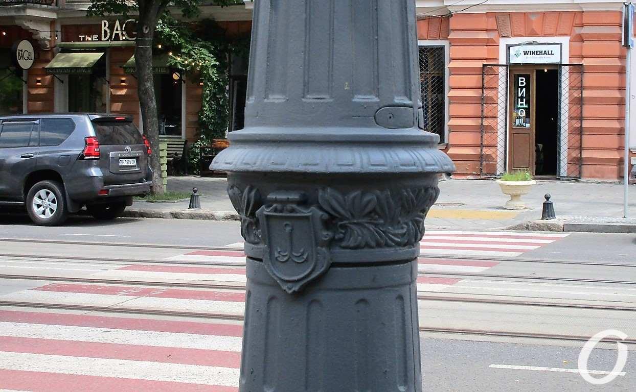 столб на ул. Софиевской2