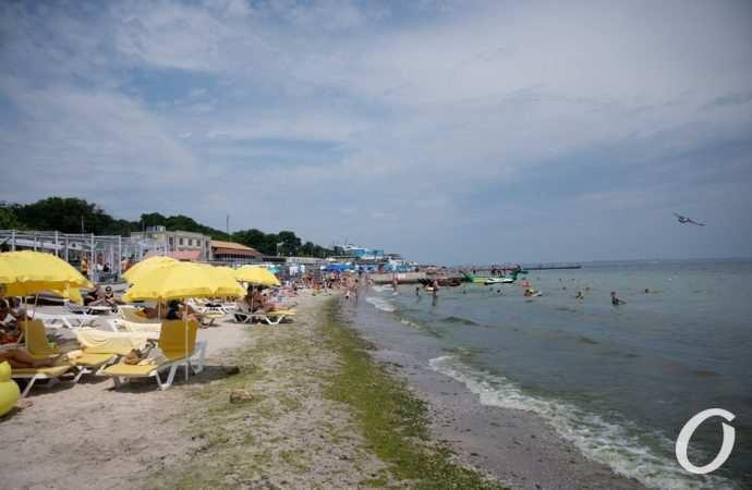 Температура морской воды в Одессе 15 июля: теплее еще на градус