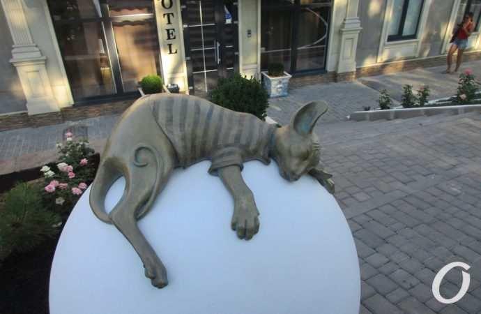 Новая скульптура кота, пойманный бомбист и помощь Турции – новости Одессы за 30 июля