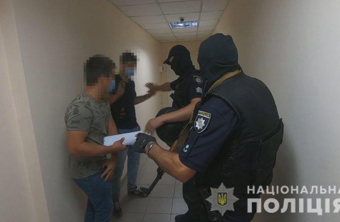 На Черноморского казачества спецназ задержал титушек: те блокировали бизнес-центр
