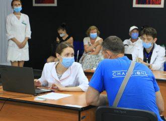 Массовая вакцинация в Одессе: сколько горожан привились от COVID-19 в первые выходные сентября