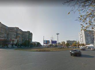 На Таирова улучшат движение через важную развязку: круг на 7 ст. Люстдорфской дороги станет турбокольцом