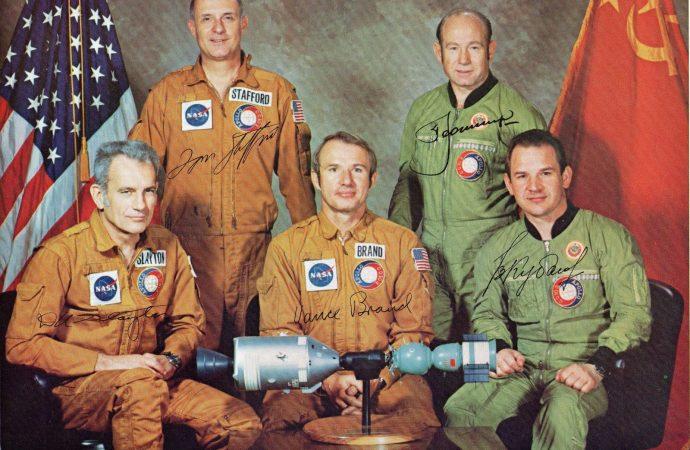 Этот день в истории: первый совместный полёт космических кораблей США и СССР