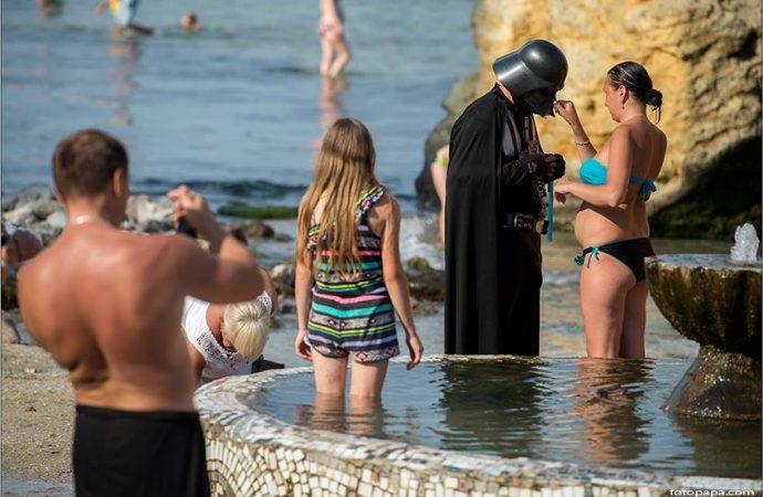Температура моря в Одессе 17 июля: вода что надо!