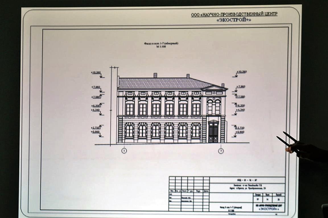 дом Тимченко, визуализация