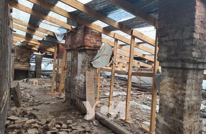 В центре Одессы начинает рушиться многострадальный дом Либмана (видео)