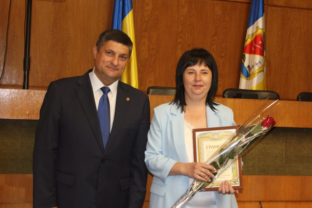 Елена Билан учитель из Измаила