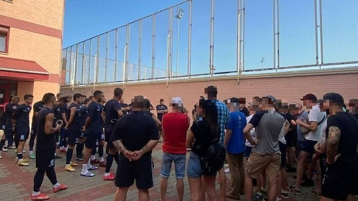 Фанаты против Черноморца