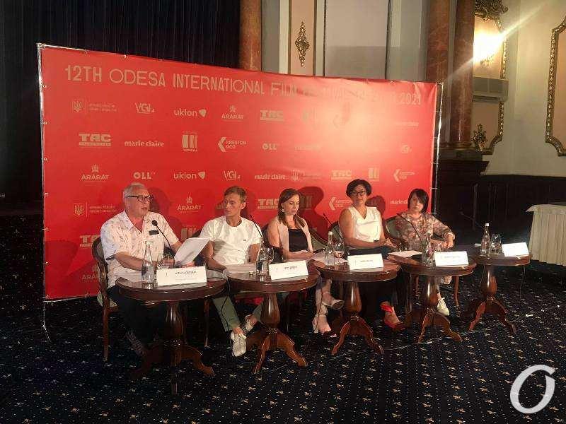 Одесский кинофест-2021, пресс-конференция