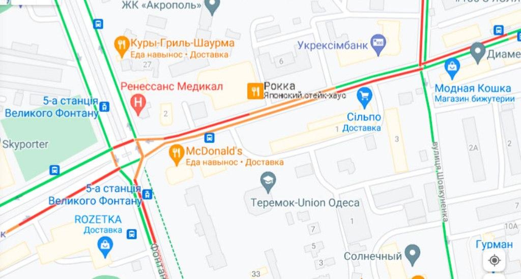 Пробка 5 июля, Черняховского