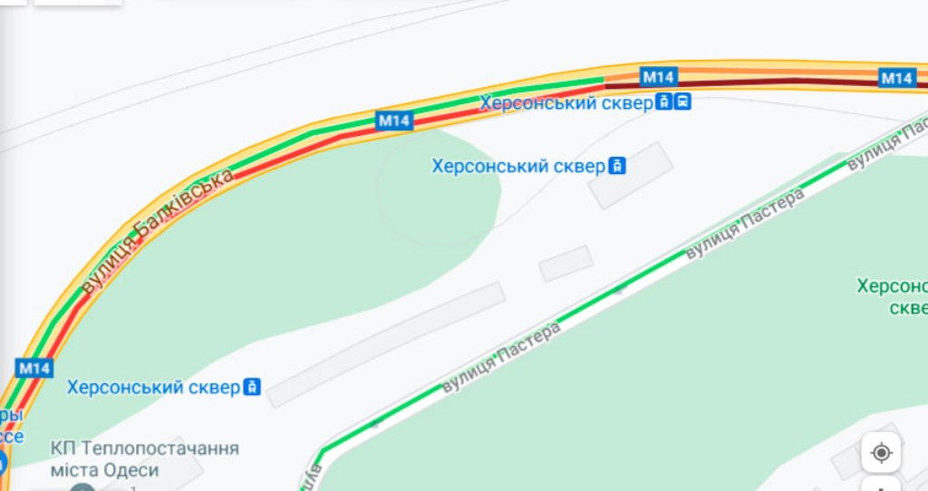 Пробки 19 июля, Балковская