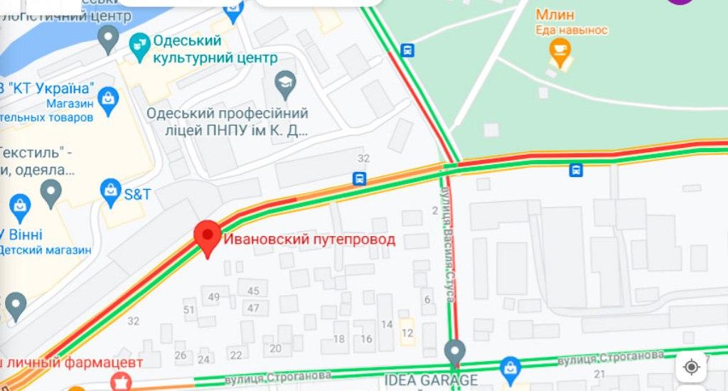 Пробки 19 июля, Ивановский мост