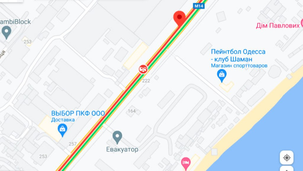 Пробки 28 июля, Николаевская дорога