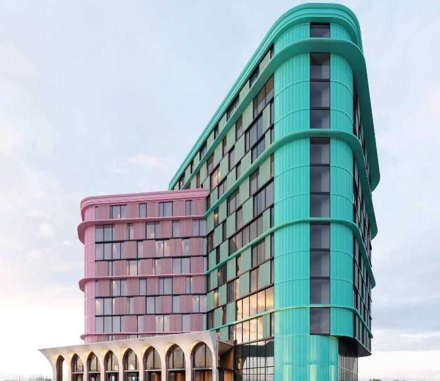 Ibiza Apartments в Аркадии, визуализация2