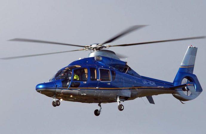 Частный вертолет под Одессой снес кемпинг (видео)