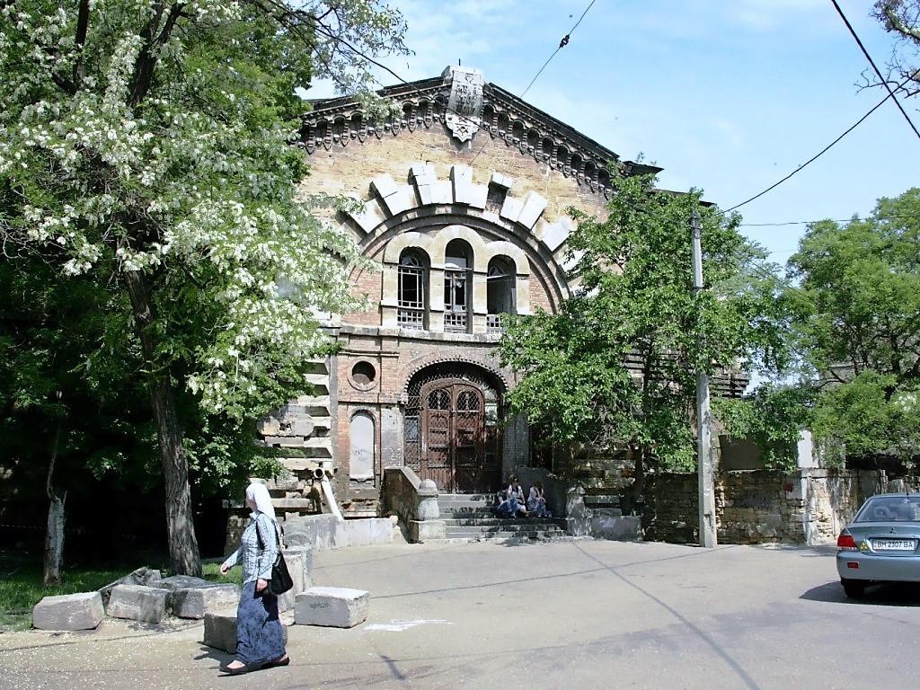 масонский дом в Одессе