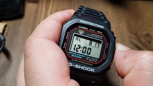 Внедорожные часы Casio