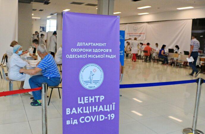 За воскресенье в Одессе привились от коронавируса 2689 человек (фото)