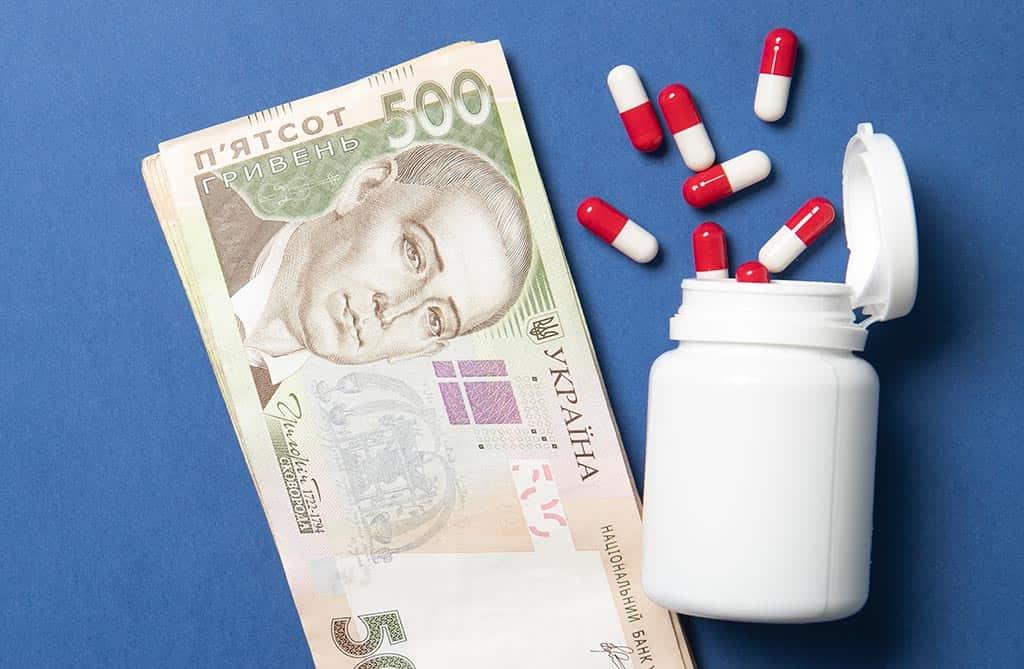 деньги лекарства таблетки