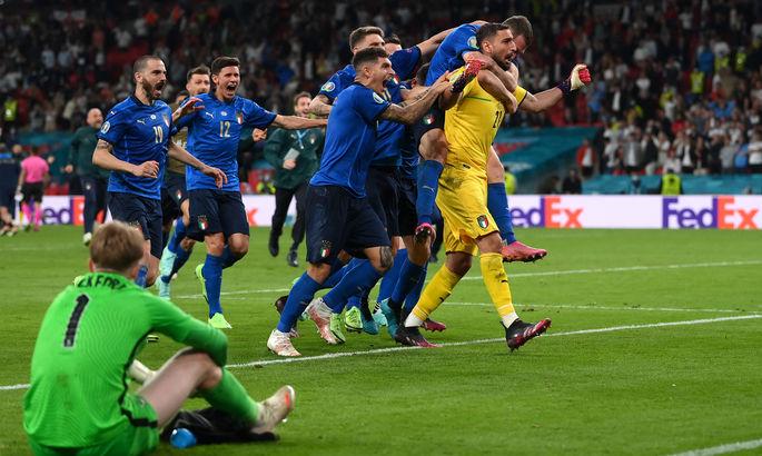 сборная Италии выиграла Евро-2020