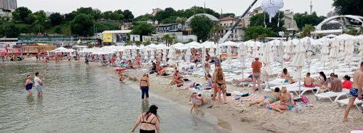 Одесситы отвоевывают для себя городские пляжи