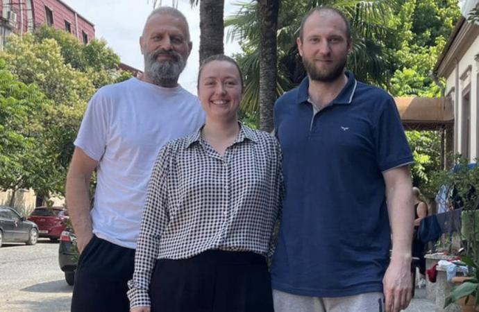 Одесские моряки, освобожденные в Грузии, вернутся домой на яхте