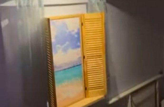 Предприимчивые одесситы поселили отдыхающих в подвал «с видом на море» (видео)