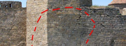 В крепости Белгород-Днестровского в любой момент может обвалиться башня