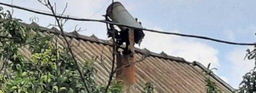В Одесской области молния попала в дом: последствия на фото
