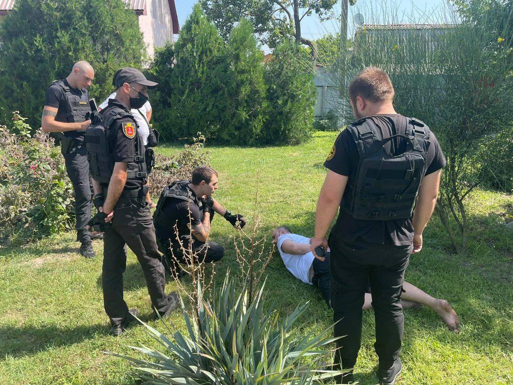 нападавший задержан