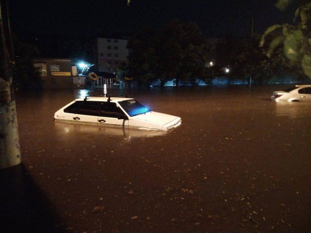 наводнение в Одессе 22 июля