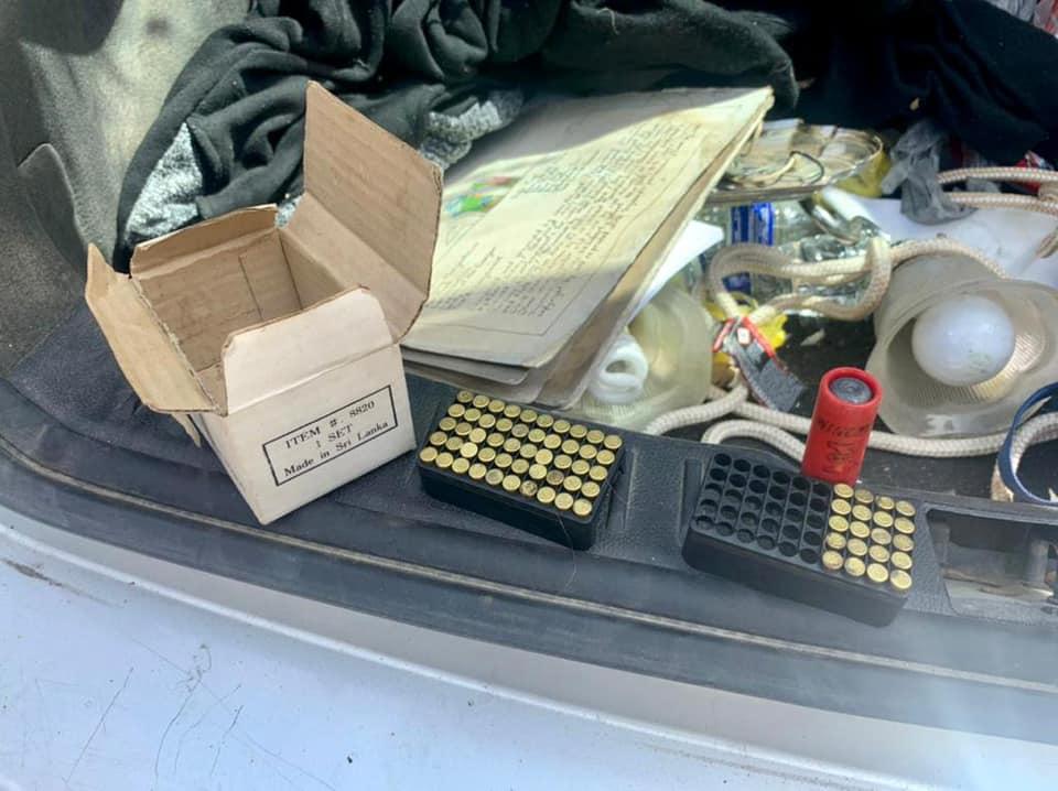 патроны в машине