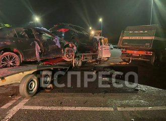 Плохая карма: На трассе Одесса-Киев автовоз, перевозивший «битки» столкнулся с другим грузовиком (фото, видео)