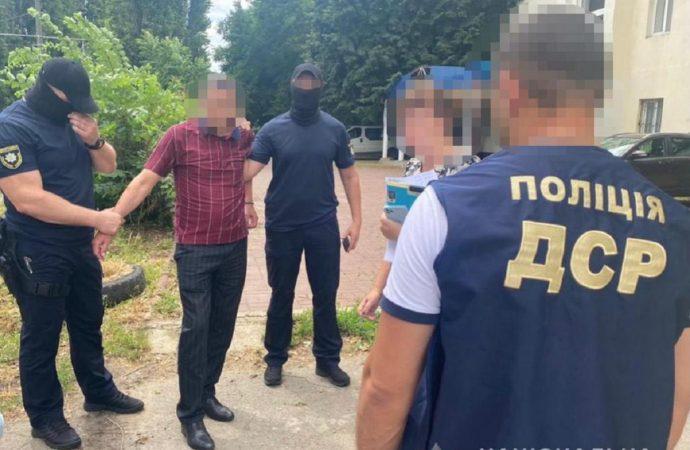 Одесский чиновник попался, когда вымогал 110 тысяч гривень