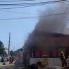 Пожар дня: в Одессе сгорели 3 МАФа на Таирова (видео)