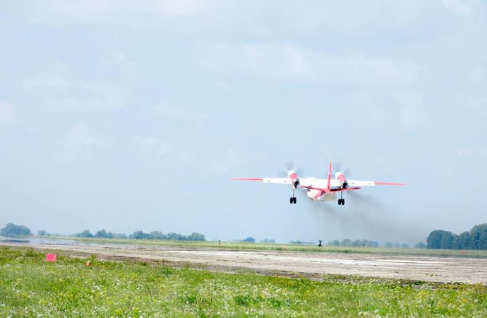 Из Одессы в Турцию вылетели два пожарных самолета: помогут спасать от огня популярные курорты
