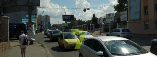 Пробки и ДТП в Одессе 15 сентября: есть аварии на ключевых магистралях