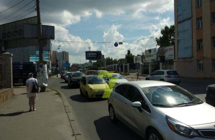 Пробки и ДТП в Одессе 11 августа: на Среднефонтанской ДТП и затор