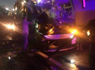В Одесской области пассажирский автобус налетел на зерновоз – есть жертвы