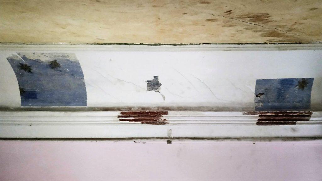 роспись под потолком