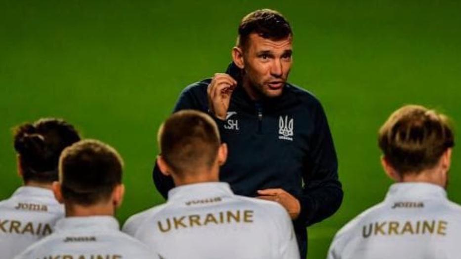 тренер сборной Украины по футболу Андрей Шевченко
