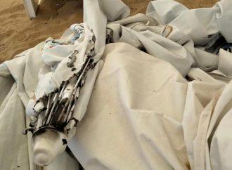 """В Одессе на """"Собачке"""" сожгли бесплатные пляжные зонты – мог пострадать и сотрудник"""