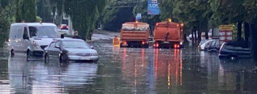 Одесса была на грани катастрофы: залповый ливень едва не привел к затоплению целых районов