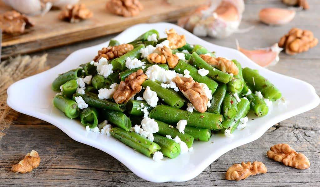 стручковая ф салат орехи