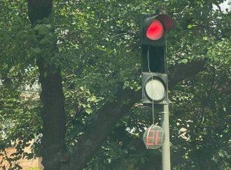 В Одессе объявились «светофорные» вандалы