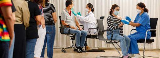 В Одессе открылся центр вакцинации, работающий по будням