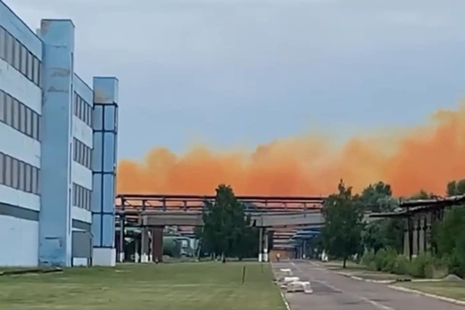 выброс в атмосферу